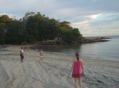 Praia Triste na Costeira de Zimbros