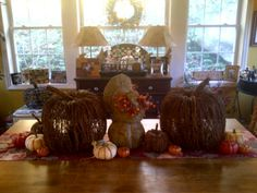 Early Thanksgiving Tablescape
