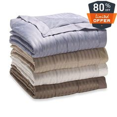 """#awesome Size: full/queen: 90""""x90"""". 100% polyester. 3"""" binding on all four #sides and box stitch construction (except baby blanket. Filled with down alternative ..."""