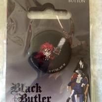 Black Butler 2 - SD Grell 1.25in button! Inexpensive and free shipping!