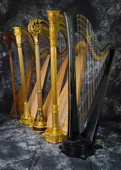 8 Pedal Harp With Swell Doors Closed Harps In 2019