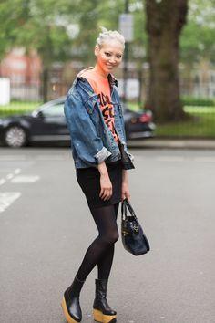 Model, Soo Joo Park, Vivian Westwood Rocking Horse Boots