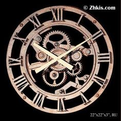 Old Clock Gears | Old Gear Clock Wall Sculpture