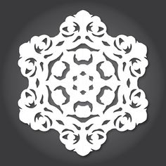 For the past few years, designer Anthony Herrera has released designs for people to make their own beautifully intricate, Star Wars themed Paper Snowflakes - and he's returned this winter to give us even more lovely designs! Paper Snowflake Template, Paper Snowflake Patterns, Snowflake Decorations, Paper Snowflakes, Snowflake Designs, Holiday Decorations, Origami Templates, Box Templates, Star Wars Snowflakes