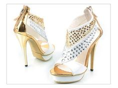 Gold and white... <3