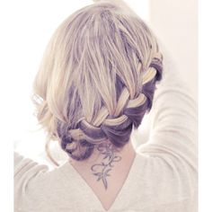 hairstyles | Tumblr | We Heart It  http://janeofjane.tumblr.com/post/54617577491/pretty-side-french-braid-low-updo-hair-tutorial