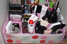 Rangement organisation makeup id es de rangements pour - Comment ranger son maquillage ...