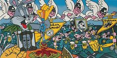 Erró, La renaissance du nazisme, 1979-1991