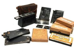 Antique Jules Richard LB Glyphoscope Stereo Viewer Camera French Job LotManufacture - Jules RichardCirca 1905 A lovely example of a French early Company Gifts, Job, Antique Cabinets, Antique Stores, Light Photography, Antiques, Antique Shops, Antiquities, Antique