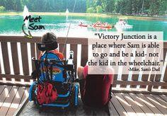 NASCAR Race Mom: Meet Sam Victory Junction Camper
