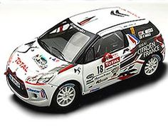 Citroen DS3 WRC (Kris Meeke - Rally Mont Blanc Morzine 2010) Diecast Model Car by IXO RAM458 This Citroen DS3 WRC (Kris Meeke - Rally Mont Blanc Morzine 2010) Diecast Model Car is White and features working wheels. It is made by IXO and is 1:43 scale (approx. 9cm / 3.5in long).