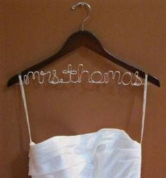 Make your own Future Mrs ________ Hanger | Weddings, Do It Yourself, Fun Stuff | Wedding Forums | WeddingWire