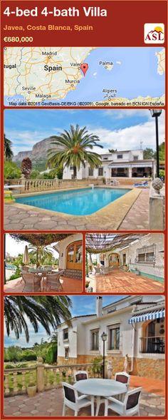 4-bed 4-bath Villa in Javea, Costa Blanca, Spain ►€680,000 #PropertyForSaleInSpain