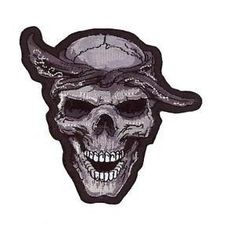 Lethal Threat Embroidered Patch Thug Skull Finding the best Patch for your vehicle at that offers many different types of tank pads, motorcycle accessories, helmet stickers at affordable price in UK. Motorcycle Accessories, Patches, Skull, Embroidery, Mini, Jambalaya, Embroidered Patch, Helmet, Decals