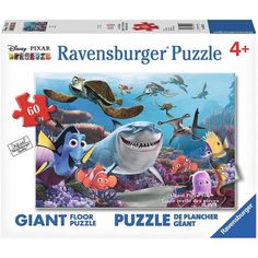 Ravensburger Finding Nemo: Smile! Floor Puzzle, 60 Pieces, Multicolor