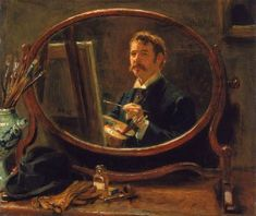 Self Portrait (Ralph Hedley - )