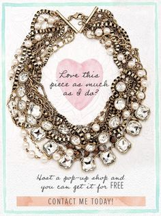 2016 = the year for fun + FREE jewelry. Contact me today to host a pop-up shop! Chloe and Isabel fashion jewelry Girls Jewelry, I Love Jewelry, Modern Jewelry, Body Jewelry Shop, Tarnished Jewelry, Family Jewels, Chloe Isabel, Wedding Jewelry, Fashion Jewelry
