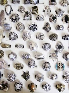 rings, tons and tons of rings