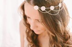 Summerblossom Dreamcatcher Bridal Hair Accesories | by Luisa Brimble