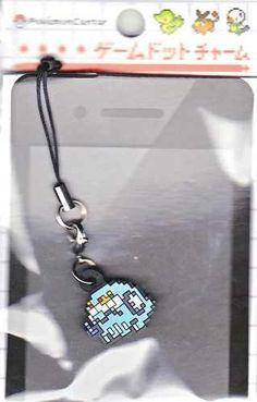 Pokemon Center 2012 Game Dot Charm Darmanitan Zen Mode Mobile Phone Strap