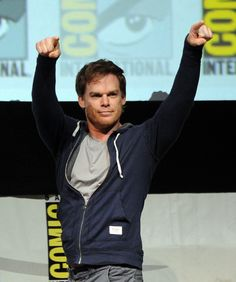 Michael C. Hall at the Final Dexter Panel at Comic-Con 2013