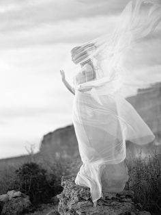 An ethereal bridal shoot on the Crimean Peninsula by Elena Pavlova with a stunning gown by Vesssna Wedding Film Photography, Creative Photography, Fashion Photography, Ethereal Photography, Movement Photography, Photographie Portrait Inspiration, Wedding Photography Inspiration, Ethereal Wedding, Wedding Veils