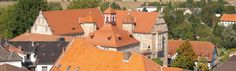 Eschwege - Landgrafenschloss vom Nikolaiturm aufgenommen