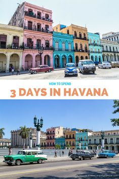 http://travelyesplease.com   How to Spend 3 Days in Havana- Our Itinerary (Blog Post)   Havana, Cuba