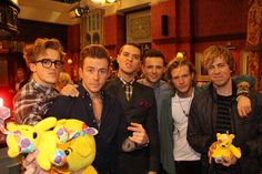 McBusted! #CiN The 9 year old inside of me just did a cartwheel…