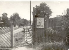 Theresienstadt, Czechoslovakia, The entrance to the ghetto, 1945.