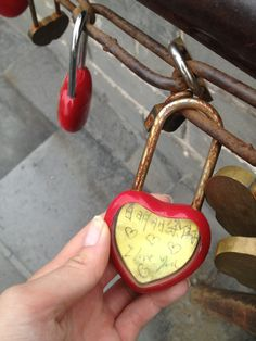 #Lovelock from the great wall of #China