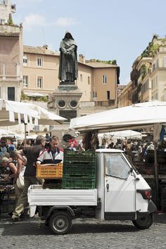 Campo de Fiori y Giordano Bruno
