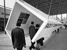 Padiglione RAI - 1965 - A. Castiglioni, E. Mari (graphics)