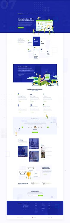 Dribbble - home-netwise.png by Michał Durys Law Firm Website, Customer Relationship Management, Customer Engagement, Jobs Apps, My Works, Business, Behance