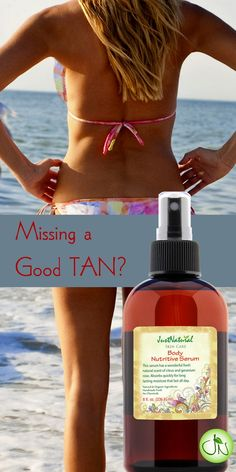 Tanning Skin Accelerator - Body Nutritive Serum. Reverse skin dryness and flaking.  Only pure no-chemicals ingredients. Go ahead, your tan is going to be amazing!.  www - https://justnutritive.com/body-nutritive-serum/