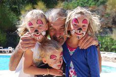 Oekkieparcours met Bruno en zijn twee zussen in La Garde Freinet.