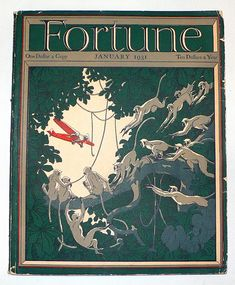 Fortune Magazine isn't necessarily known for its magazine design. Fortune Magazine, Time Magazine, Magazine Art, Magazine Design, Margaret Bourke White, And July, Publication Design, Old Magazines, Print Magazine