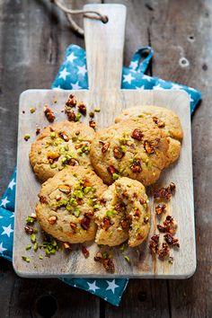 cookies pistache et noisette  [vegan]