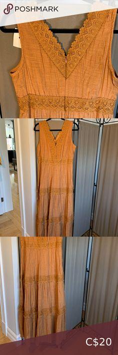 Fits more like a Dresses Maxi Orange Dress Summer, Summer Dresses, Burnt Orange, Orange Color, Two Piece Skirt Set, Fitness, Skirts, Closet, Beautiful