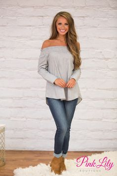 This striped blouse is so effortlessly classy - you're sure to love styling it all season long!