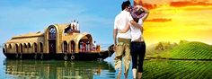 Kerala Honeymoon Tour Package for 6 Days - http://www.discover-india.in/kerala-tour-packages/kerala-honeymoon-tour.html