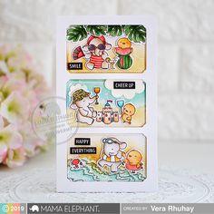 mama elephant | design blog: Summer Splash with Vera