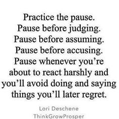 Ever repented for having said or done something as a reaction to someone else's stupidity? Reposting I've found this to be a powerful practice. It gives me more clarity and helps me recenter. A small pause can make a huge difference. Christine Caine, Work Motivation, Self Reminder, Famous Quotes, Regrets, Help Me, Wisdom Quotes, Self Improvement, Life Lessons