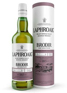 Laphroaig Brodir Port Wood is the second in a series of limited-edition Laphroaig expressions selected for annual release. The first, Laphroaig Brodir 13yo was introduced in 2012 at the Viking Line Whisky Fair. Brodir - 'brother' in ancient Norse - is said to celebrate Scotland's connection with the Nordic region and culture and this latest release from the leading Islay malt continues that commemoration.