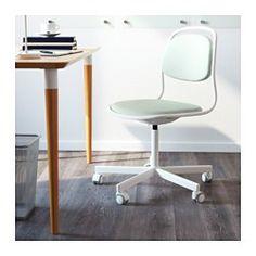 Dank der Polsterung mit hoch verdichtetem Schaumstoff von guter Qualität bleibt der Stuhl viele Jahre lang komfortabel. Die Sitzfläche lässt sich auf bequeme Arbeitshöhe einstellen. Die Rollen mit Gummiüberzug gleiten sanft über jede Art von Fußbodenbelag.