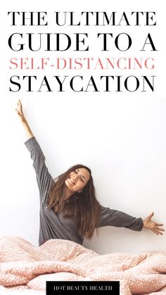Since being stuck at home, have your travel plans been adjusted this summer? Have a staycation instead! Here is my ultimate guide on a social distancing staycation. Great ideas to save money and relax at home! Best Places To Vacation, Best Vacations, Relaxing Places, Health And Fitness Tips, What To Pack, Ways To Save Money, Best Self, Staycation, Go Outside