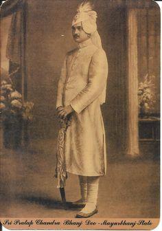 Sri Pratap Chandra Bhanj Deo of Mayurbhanj State By Rohit Sonkiya