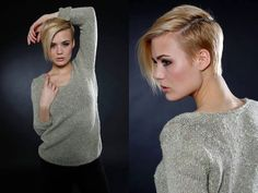 Today& pixie haircuts tends to be edgy and soft with undercut at the neck, sides and longer layers on top in contrasting colors. They look astonishing from sides! Undercut Hairstyles Women, Undercut Women, Popular Hairstyles, Pixie Haircuts, Everyday Beauty Routine, Beauty Routines, Purple Pixie Cut, Short Asymmetrical Haircut, Badass Haircut