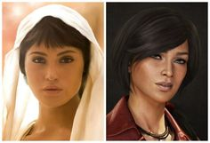 Uncharted movie cast chloe frazer actor jema arterton