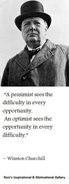 One of Winston Churchill's nicest quotes | Click here for many other inspirational & motivational quotes!
